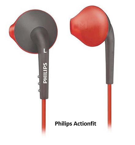 Philips Actionfit earphones