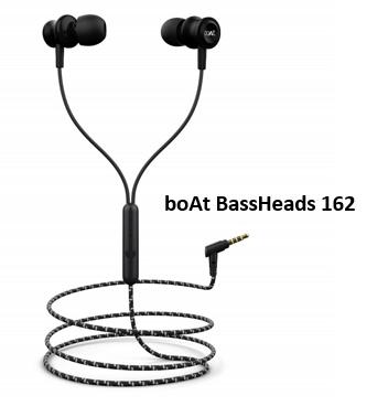 boAt basshead 162 earphones