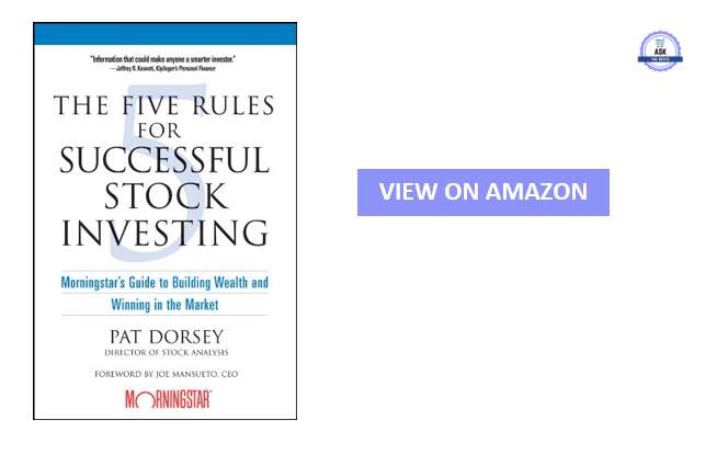The five rules of succesful investing