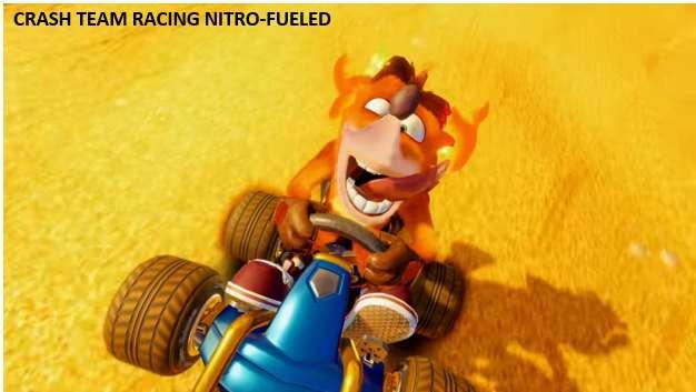 Crash team nitro