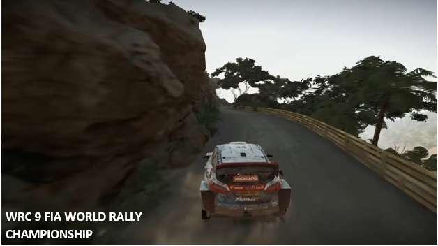 WRC fia 9 world rally championship