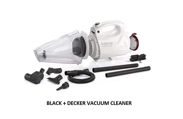 BLACK + DECKER VACUUM CLEANER