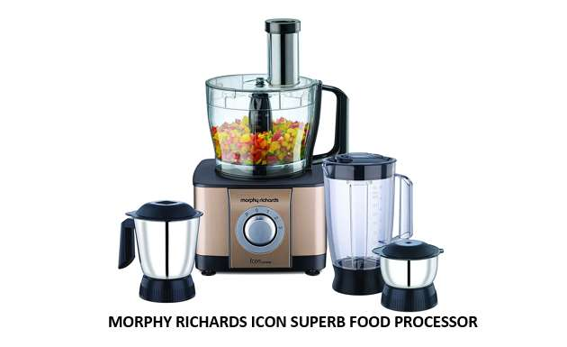 MORPHY RICHARDS ICON SUPERB FOOD PROCESSOR