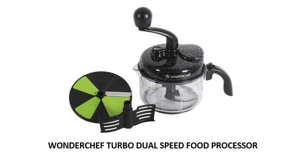 WONDERCHEF TURBO DUAL SPEED FOOD PROCESSOR