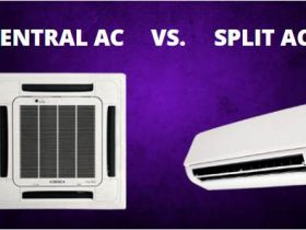 CENTRAL AC VS SPLIT AC