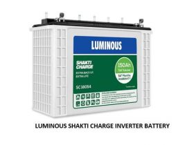 LUMINOUS SHAKTI CHARGE INVERTER BATTERY