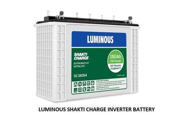 LUMINOUS SHAKTI CHARGE INVERTER BATTERY