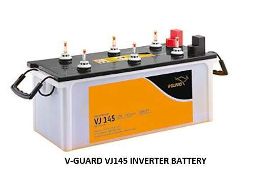 V-GUARD VJ145 INVERTER BATTERY