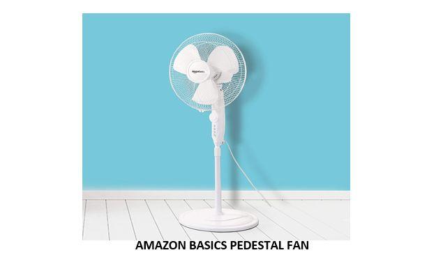 AMAZON BASICS PEDESTAL FAN
