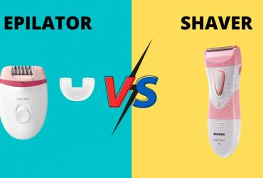 EPILATOR VS SHAVER