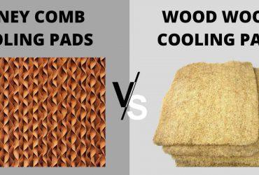 HONEY COMB VS WOOD WOOL COOLING PADS