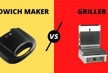 SANDWICH MAKER VS GRILLER