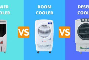 TOWER COOLER VS ROOM COOLER VS DESERT COOLER
