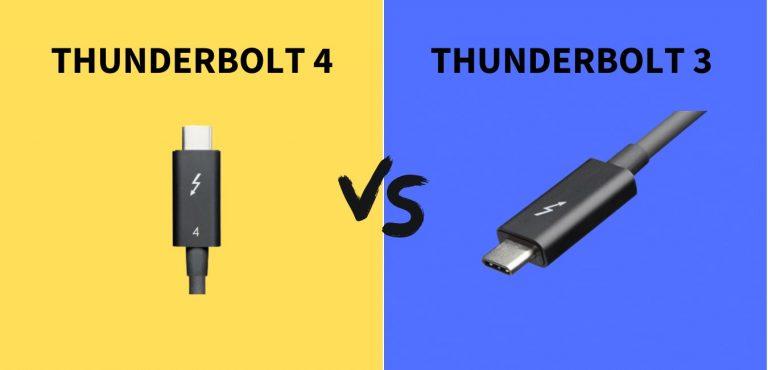 Thunderbolt 4 Vs Thunderbolt 3