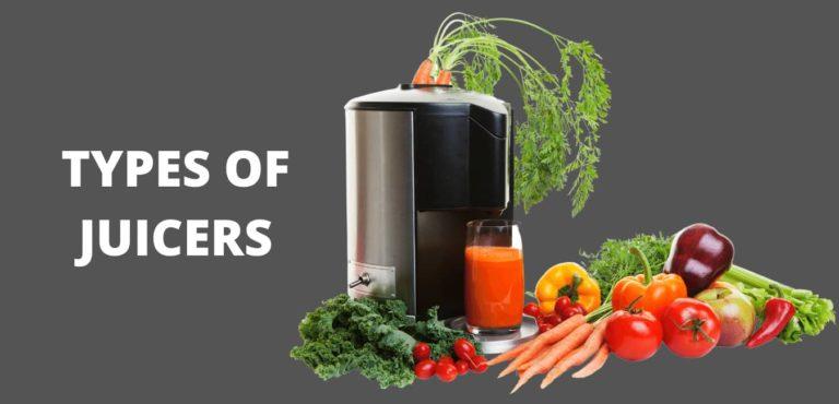 types of juicers