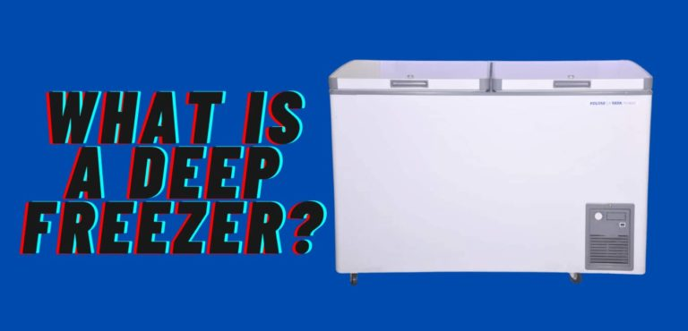 what is a deep freezer